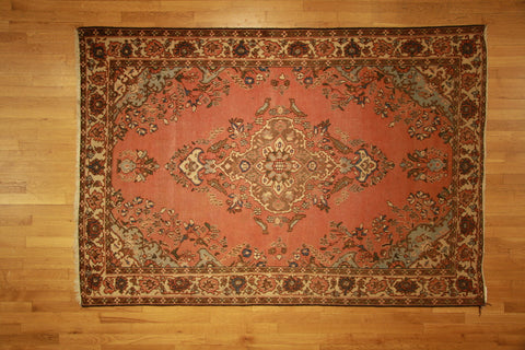 Tabriz antique 5x7 brown