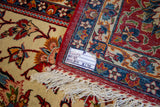 "Isfahan antique Persian. 11'4""x7'10"" #s169"