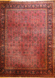 "KASHAN  ANTIQUE 10'2""X13'4"""