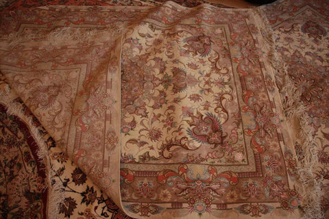 silk 5x7 tabriz pair