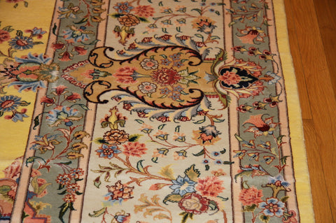 "TABRIZ SILK 11'6X16'7"" PERSIAN"