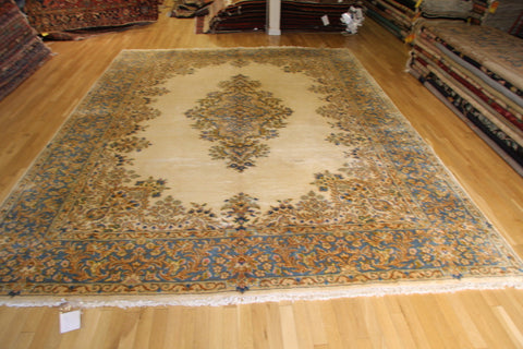"kirman persian 9'2""x12'2"""