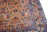 "yazd antique persian 9'2""x12'2"""
