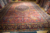 "yazd  persian antique  11'5""X  16  #9987"