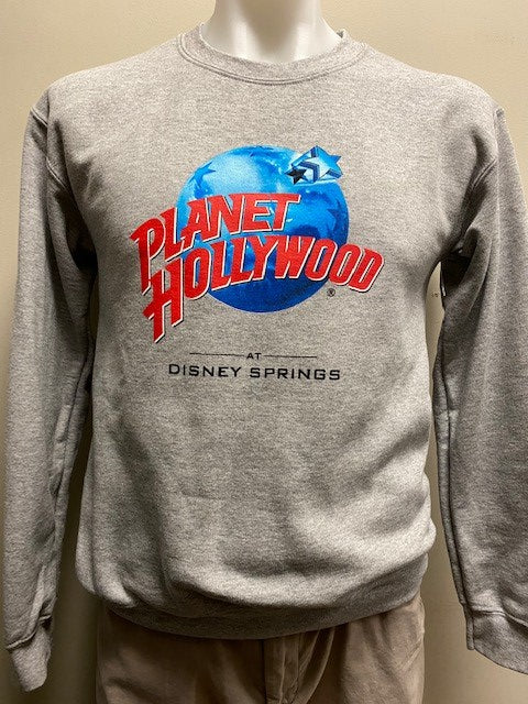Disney Springs Gray Classic Sweatshirt