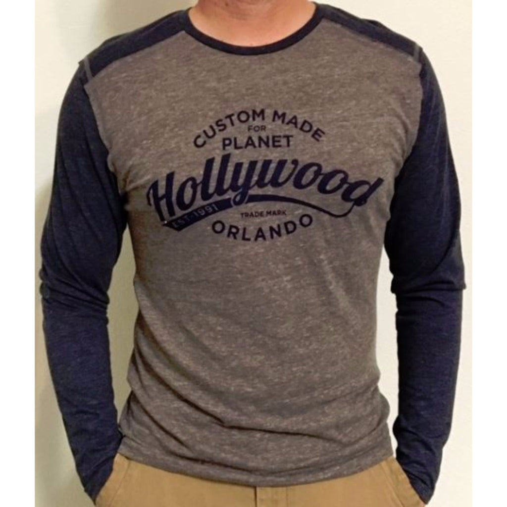 Metro Raglan Long Sleeve Tee