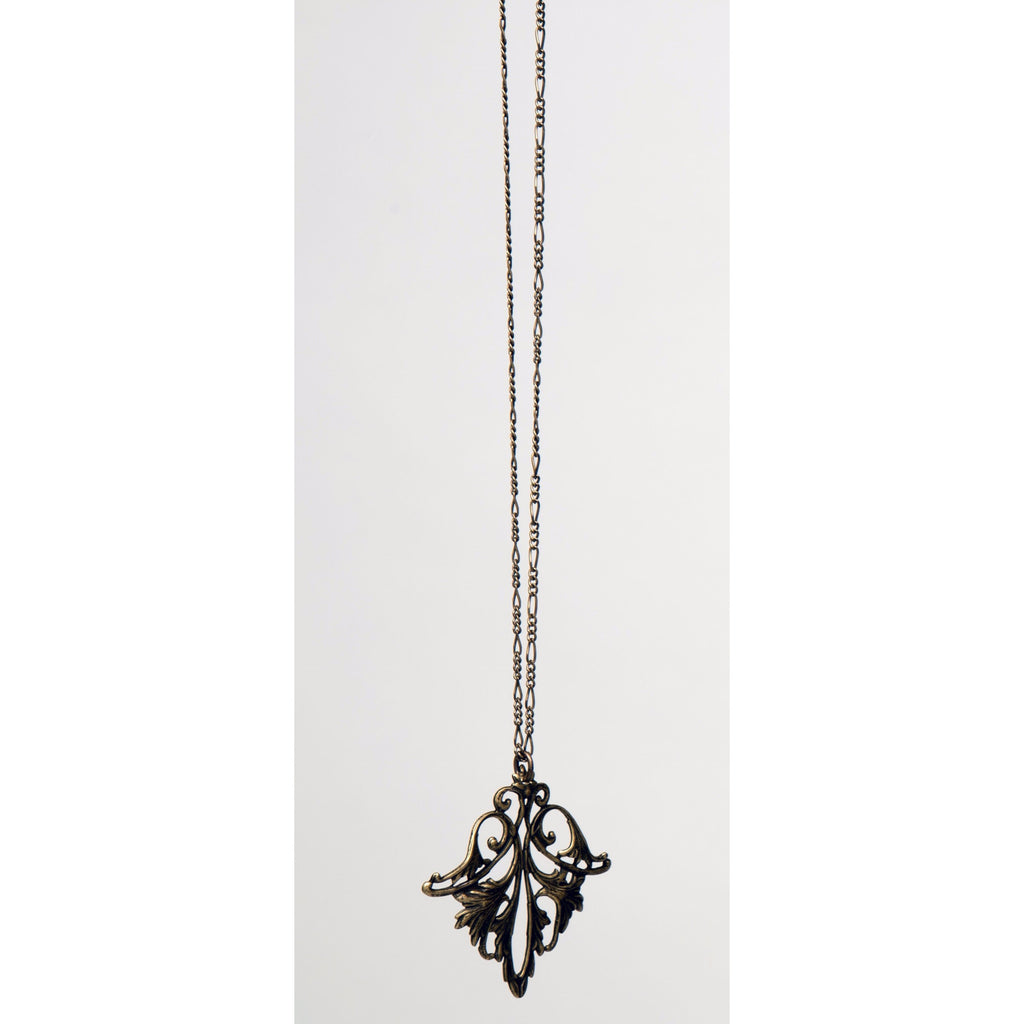 Necklace - Art Deco Filigree