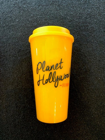 Yellow Travel Tumbler