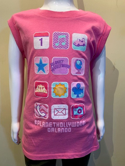 Pink Cell Phone Tee