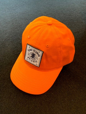 Orange Palm Hat