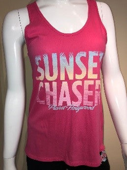 Pink Sunset Chaser Tank