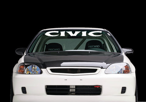 Windshield Banner to fit Honda Civic