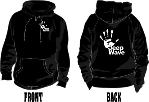 jeep wave hoodie with text