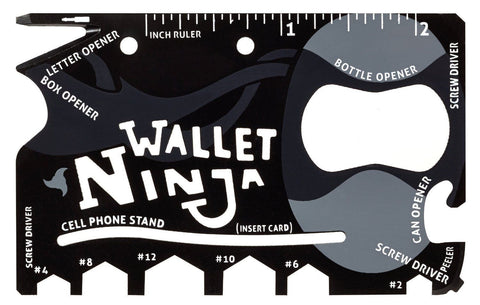 wallet ninja multi tool card