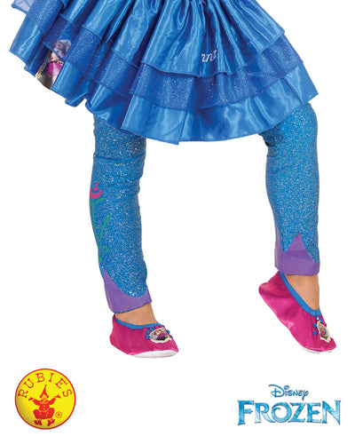 Anna Footless Tights - Disney Princess Frozen - Red Top Box