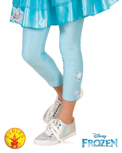 Elsa Footless Tights - Red Top Box