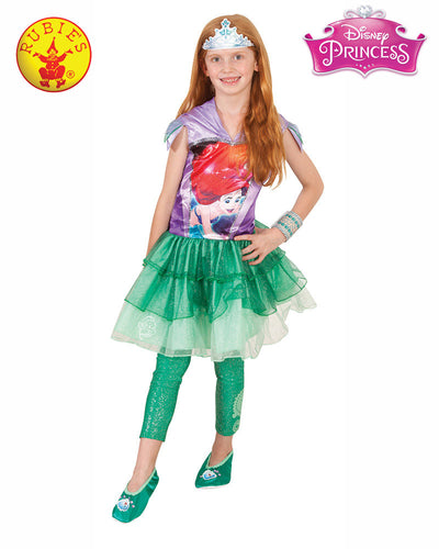 Ariel Hooded Dress - Disney Princess - Red Top Box