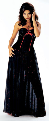 Gothic Madame Costume - Red Top Box