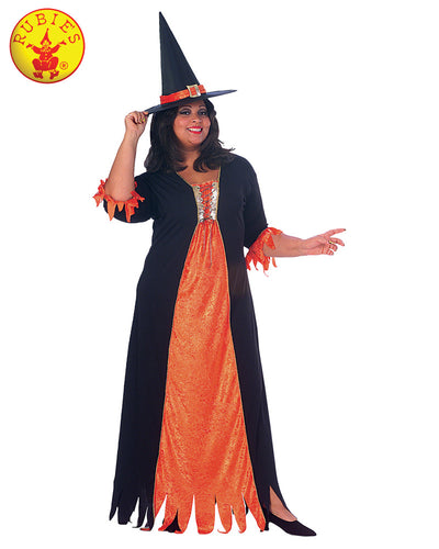 Gothic Witch - Size Plus - Red Top Box