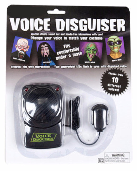 Voice Disguiser - 10 Different Voices - Red Top Box