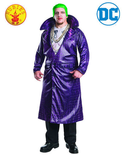The Joker Deluxe Costume - Size Plus - Sucide Squad - Red Top Box