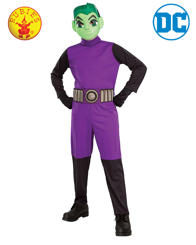 Beast Boy Teen Titan Child - Size S - Red Top Box