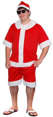 Aussie Summer Santa - Adult - Medium - Brisbane Costumes