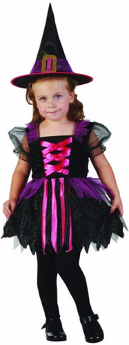 Lil Glitzy Witch - Baby  - halloween - Red Top Box