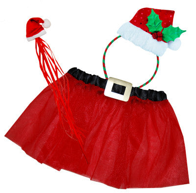 *Christmas Dress-Up Set - Santa Fairy - Red Top Box