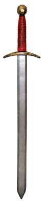 Long Excalibur Sword - 43 inch - Red Top Box
