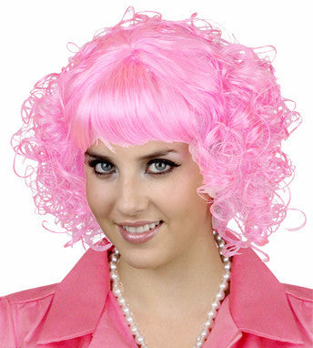 Beauty School Wig - Pink Frenchie - Red Top Box