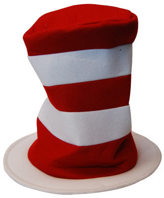 Plush Cat in Hat - Hat - Red Top Box