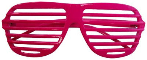 80s Slot Glasses - Neon Pink - Red Top Box