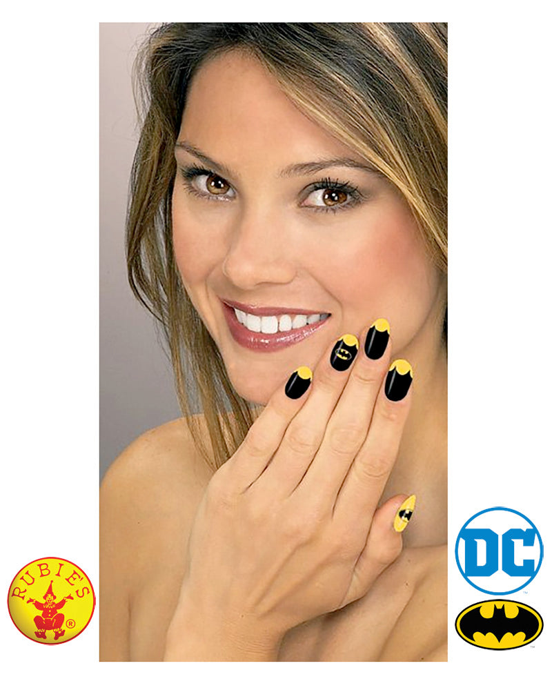 Batgirl Nail Decal Kit - Red Top Box