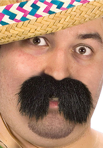 Character Mustache - Bandido - Red Top Box