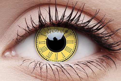 Crazy Lens Contacts - Timekeeper - Brisbane Costumes