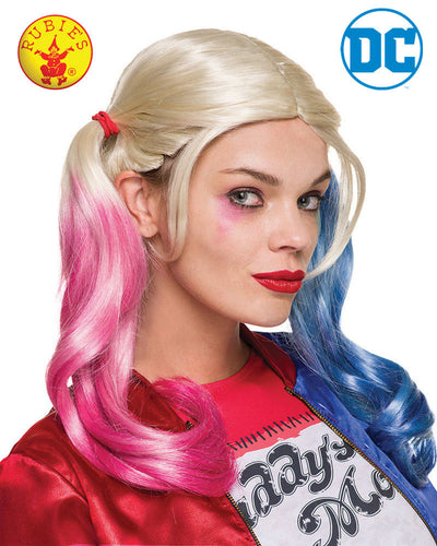 Harley Quinn Wig - Red Top Box