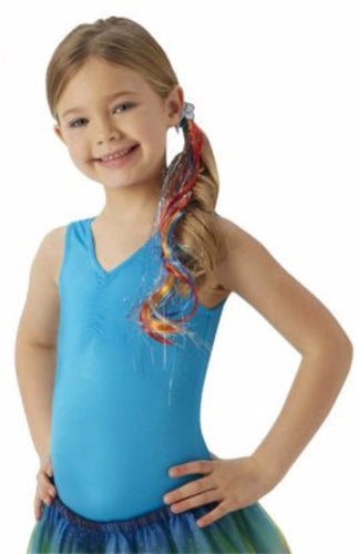 Rainbow Dash Mlp Hair Switch Child - Brisbane Costumes