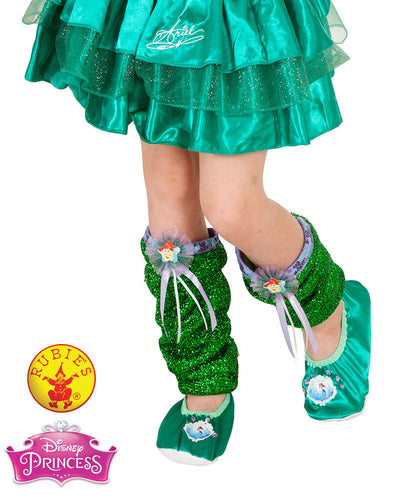 Ariel Leg Warmers - Disney Princess - Red Top Box