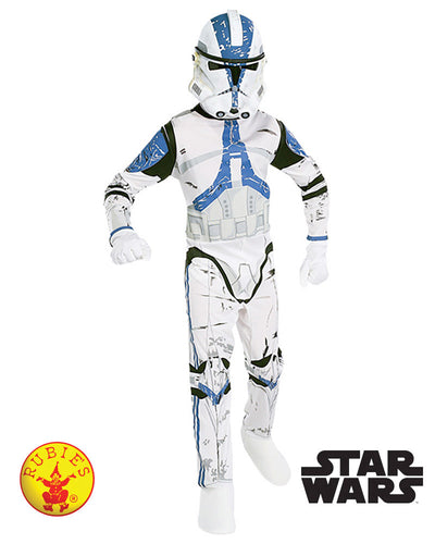 Clone Trooper Classic Costume, Child - Supanova - Oz Comic Con - Red Top Box