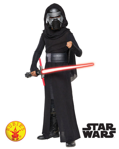 Kylo Ren Deluxe Costume, Child - Red Top Box