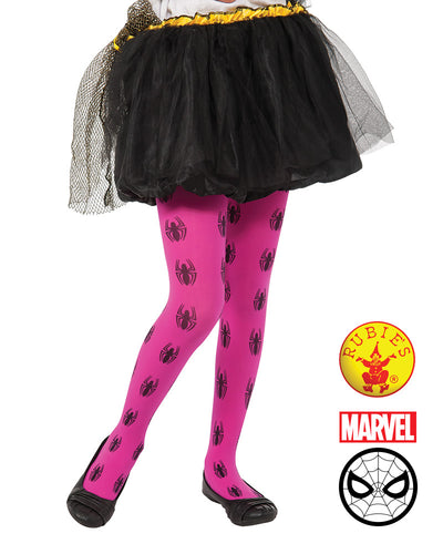 Spider-Girl Pink Adult Tights - Brisbane Costumes