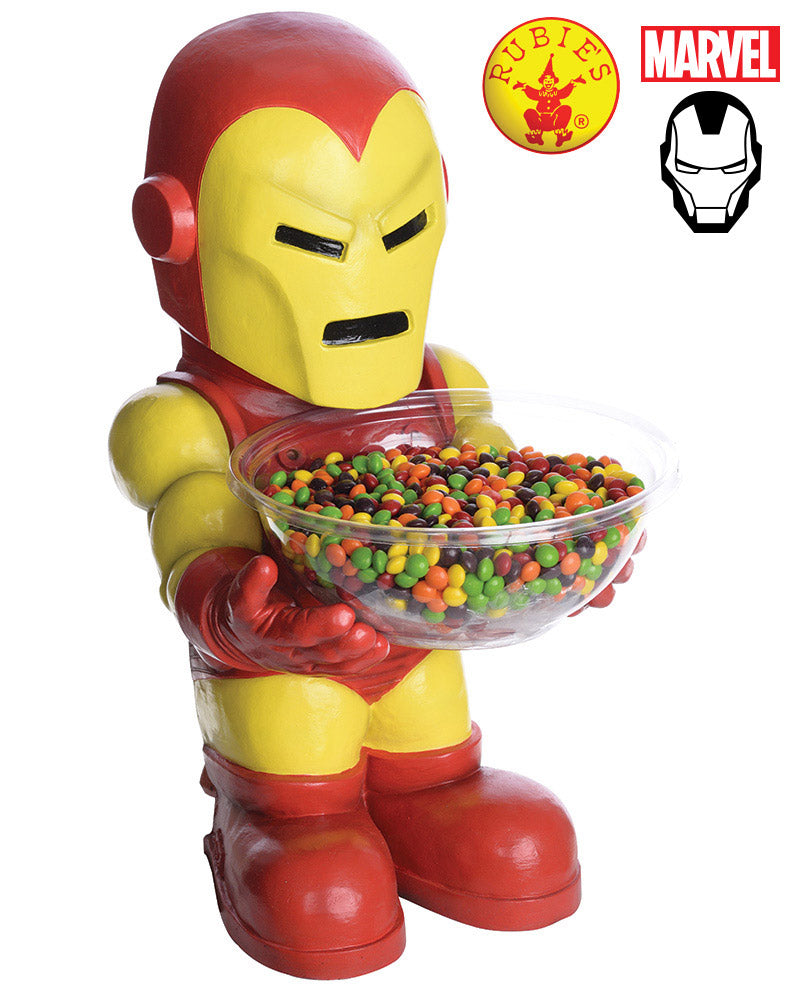 Iron Man Candy Bowl Holder - Red Top Box