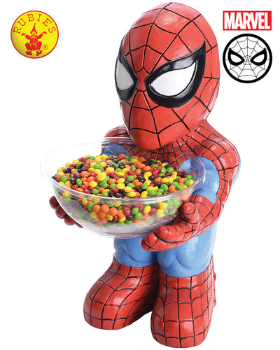 Spider Man Candy Bowl Holder - Red Top Box