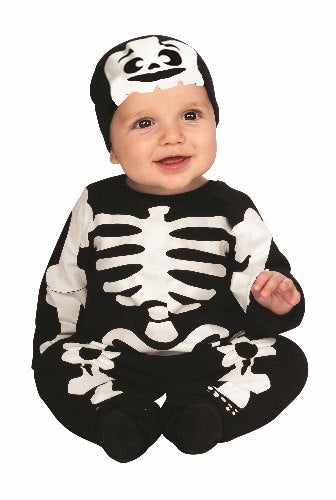 Lil Skeleton - Size 6-12 Months - Red Top Box
