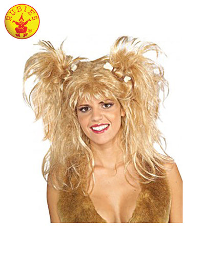 Cavewoman Blonde Wig Adult - Red Top Box