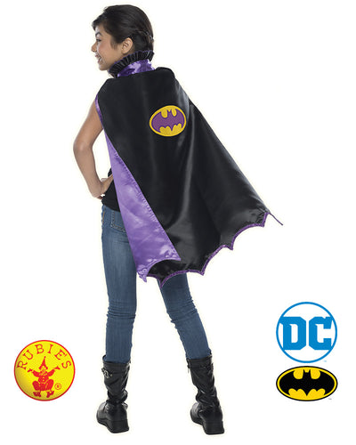 Batgirl Dlx Child Cape - Rubie's Licensed - Red Top Box
