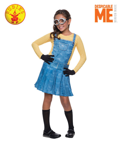 Girl MINION - Red Top Box