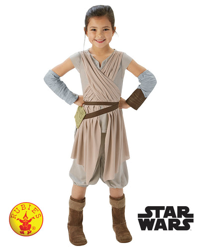 Star Wars - Rey Deluxe - Child - Star Wars Licensed - Red Top Box