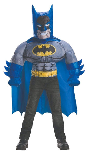BATMAN INFLATABLE COSTUME TOP, CHILD